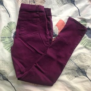 Other - KIDS girls fun purple pants